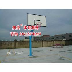 重庆165圆管篮球架图片