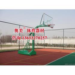 甘肃白银市篮球架图片