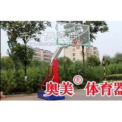 地埋式圆管篮球架-款式齐全 厂家无锡市图片