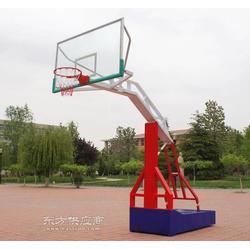 杭州墙体悬臂篮球架图片