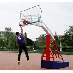 北京墙体悬臂篮球架图片