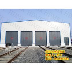 消防车库折叠门厂家、工厂电动折叠门厂家图片
