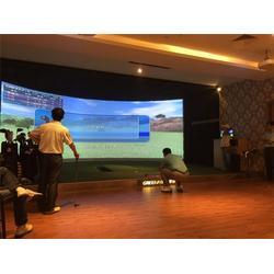 济南奥星智能影音公司、室内高尔夫、室内高尔夫图片