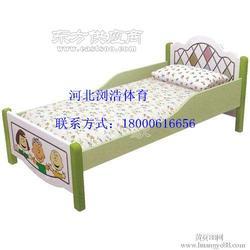 幼儿园午睡叠叠床加厚午托实木板小床及室外健身器材图片