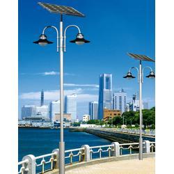 3米5米6米太阳能路灯、太阳能路灯、现代照明太阳能电池板图片