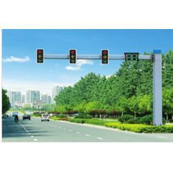 監控桿-現代照明-交通信號監控桿圖片