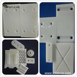 各类塑料耐磨配件专业加工 聚乙烯超高垫块导轨配件生产图片