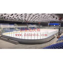 体育馆大型冰场围栏 冰球场标准围栏板 轮滑球场围栏图片