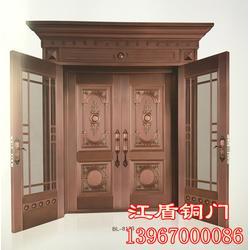 不锈钢镀铜门,湖南不锈钢镀铜门,江盾门业质量可靠(查看)图片