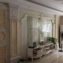 国色天香(图),天然玉石背景墙厂家,通化玉石背景墙图片