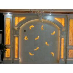 国色天香(图),天然玉石背景墙加盟,密云天然玉石图片