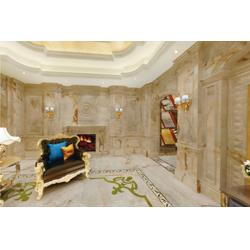 玉石背景墙加盟、台南玉石背景墙、国色天香(查看)图片