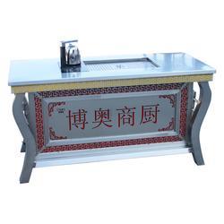 不锈钢茶桌品牌、不锈钢茶桌、山东博奥(查看)图片