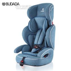 步达达安全座椅雅骑士E600优雅蓝9个月-12岁 德国步达达BUDADA儿童安全座椅图片