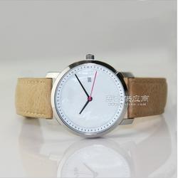 英伦风简约学生手表真皮手表配日本原装机芯手表 女款 欧美图片