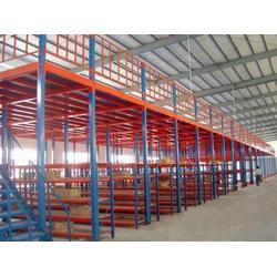 阁楼货架|中蓝阁楼式货架厂家|中山阁楼货架厂图片
