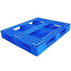 东莞川字型塑胶卡板加工_东莞川字型塑胶卡板_中蓝卡板图片