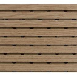 木质吸音板-唐山吸音板-万景生态木图片