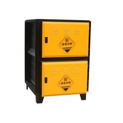 静电油烟净化器定做、塔城静电油烟净化器、蔚蓝环保(图)图片