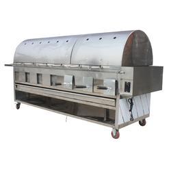 不锈钢烤全羊炉,不锈钢烤全羊炉,蔚蓝环保(图)图片
