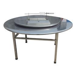 蔚蓝环保(图),不锈钢烧烤桌品牌,不锈钢烧烤桌图片