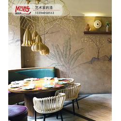 慕凯风焦碳漆艺术涂料-厦门市金玉峰(在线咨询)林周焦碳漆图片