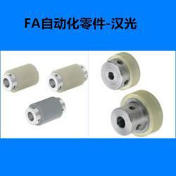 汉光带槽滚轮聚氨酯衬层带轴承型带槽滚轮聚氨酯衬层带轴承型生产图片