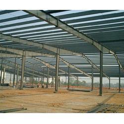 济南钢结构、济南钢结构建筑施工、?#34385;?#30333;云彩钢钢构(优质商家)图片