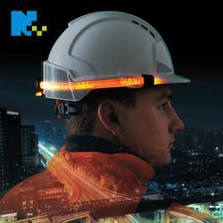 反光安全帽,铁路反光安全帽,年年旺光纤反光安全帽图片