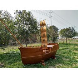 风景海盗船-海盗船观光船-海盗木船-木制景观船-木制游乐船图片