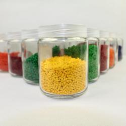 再生料抽粒厂、东莞抽粒、宏隆塑染图片