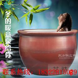 极乐汤温泉陶瓷泡澡洗浴专用大缸泡澡大缸厂家直销定做1.1.2.3米图片