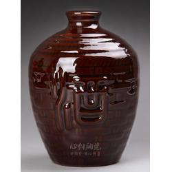 陶瓷酒瓶 宜兴心创陶瓷(在线咨询) 陶瓷酒瓶图片