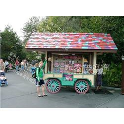 供应景区游乐园可爱售货车 售货车厂家报价 物美价廉图片
