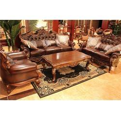 美式沙发品牌、山东美式沙发、百家信美式沙发图片