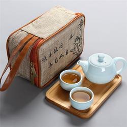旅行茶具_金镶玉_旅行茶具图片
