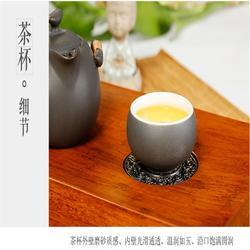 車載茶具套裝紫砂_車載茶具_金鑲玉旅行茶具(多圖)圖片