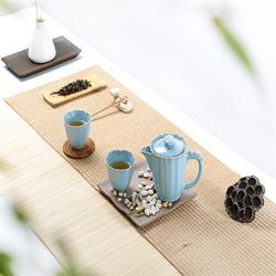 旅行茶具,金镶玉车载茶具,便携式旅行茶具套装图片