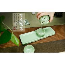 套装旅行茶具、旅行茶具、金镶玉便携式茶具图片