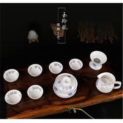 茶具、金镶玉茶具、礼品茶具图片