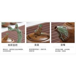 茶具-陶瓷茶具-金镶玉图片
