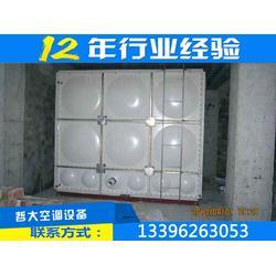 21吨smc玻璃钢水箱|舟山smc玻璃钢水箱|瑞征工艺先进图片