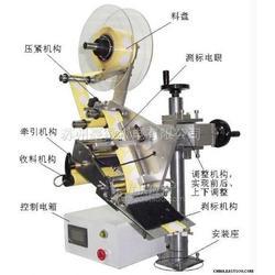 高精度平面贴标贴膜机图片