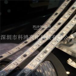 WS2811外置IC高亮5050贴片RGB幻彩流水LED软灯带12V 户外套管防水图片