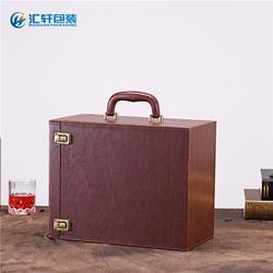 红酒盒供应商、红酒盒、汇轩包装盒用料上乘(查看)图片