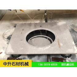 石材磨边机供应 中升石材机械 磨边机