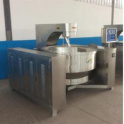 合肥电磁搅拌炒锅|诸城隆宸机械|电磁搅拌炒锅生产商图片