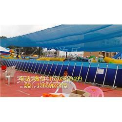 方便安装的可移动支架游泳池 定制露天可拆卸水池图片