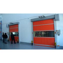仓储快速门安装、PVC感应快速门厂家订做图片