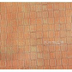 双祥皮革RNF-1827方块编织纹烫金PU 箱包辅件生产厂家图片